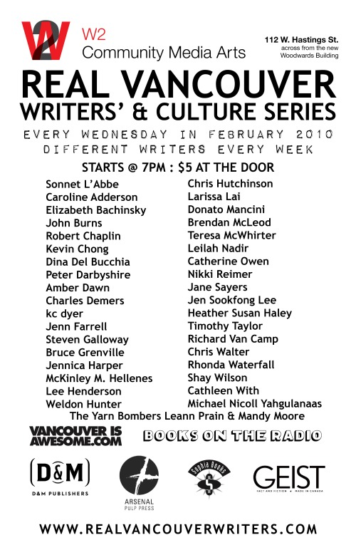 Real Vancouver Writers